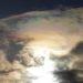 福井で不思議な彩雲を見ました